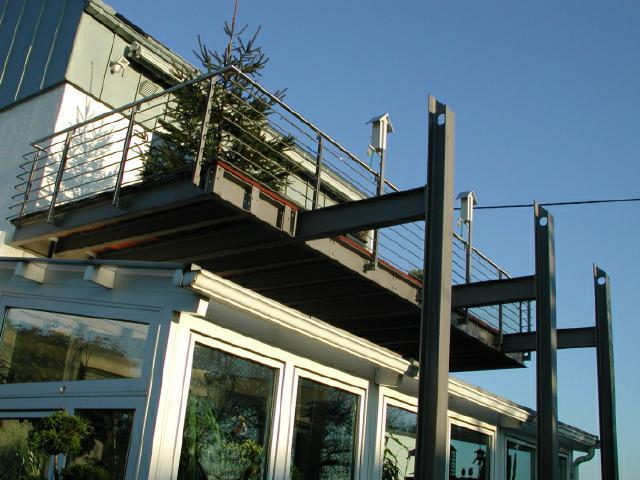 Stahlbalkone - Konstruktionen, Metallbau Gebrüder EYDT